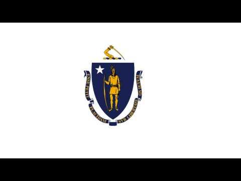 Bandera e Himno de Massachusetts (Estados Unidos) - Flag of Massachusetts (United Estates)