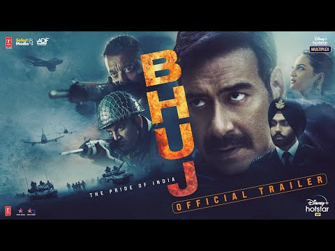 Bhuj: The Pride Of India - Official Trailer | Ajay D. Sonakshi S. Sanjay D. Ammy V.Nora F | 13th Aug
