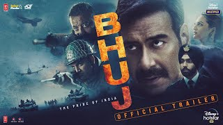 Bhuj: The Pride Of India - Official Trailer | Ajay D. Sonakshi S. Sanjay D. Ammy V.Nora F | 13th Aug Image