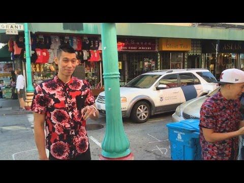 MC Jin & Jeremy Lin 在SF中國城拍攝MV 花絮