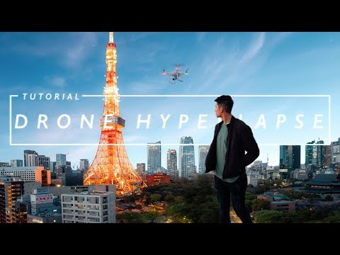 How to create EPIC DRONE HYPERLAPSES!