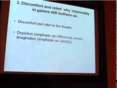 PCG2009 - Gert Gooskens - Morality in Computer Games – A Phenomenological Approach