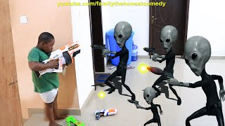 Download Marvelous Comedy - Aliens Invasion attack Aliens vs Marvelous (Family The Honest Comedy)