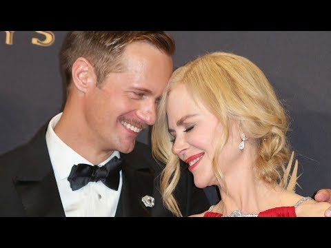 Nicole Kidman kissed Alexander Skarsgård's on the mouth