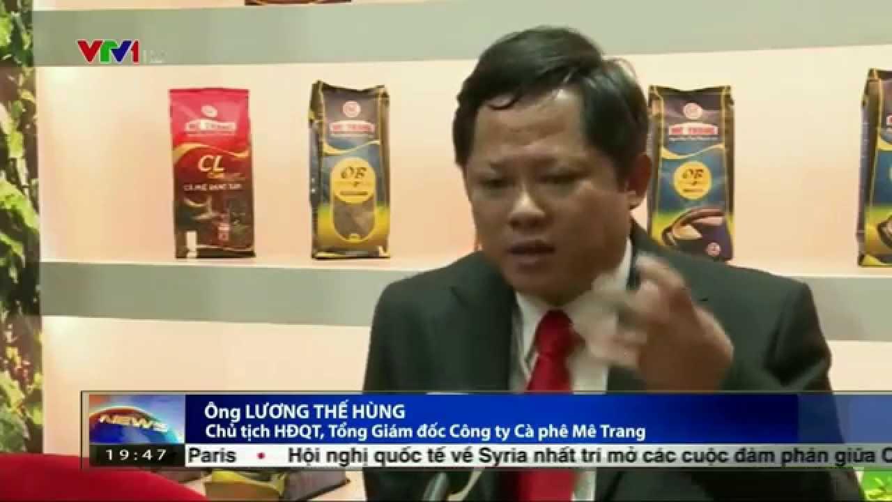 Phong su Ca phe Me Trang tren ban tin thoi su VTV 1 ngay 15/11/2015