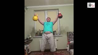 Атлетическая гимнастика с гирями