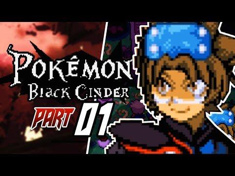 Pokemon Black Cinder Fan Game Part 1 A SHINY STARTER! Gameplay Walkthrough