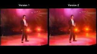 Michael Jackson - Billie Jean Munich 1992 - Split Screen