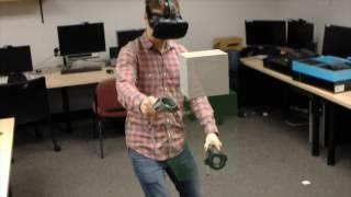 Shared Reality: Vive + HoloLenses = Magic thumbnail