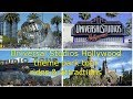 Universal Studios Hollywood theme park tour rides & attractions