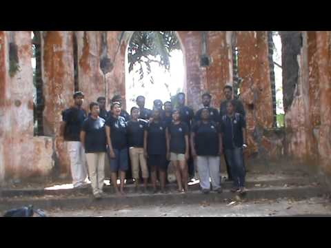 Hymn - The Lord's My Shepherd - Time Out gang at Ross Island