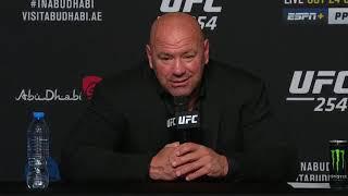 UFC 254: Лучшие моменты пресс конференции