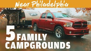 Places to Camp Near Philadelphia and New Jersey