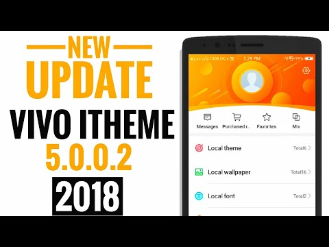 HOW TO UPDATE VIVO ITHEME 5 0 0 2 AND GET UNBELIVABLE MORE THEMES