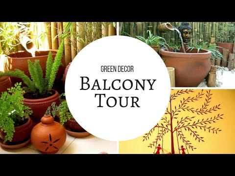Indian Balcony Tour | Balcony Decor Ideas | Balcony Organizing Ideas |Apartment Balcony Decor