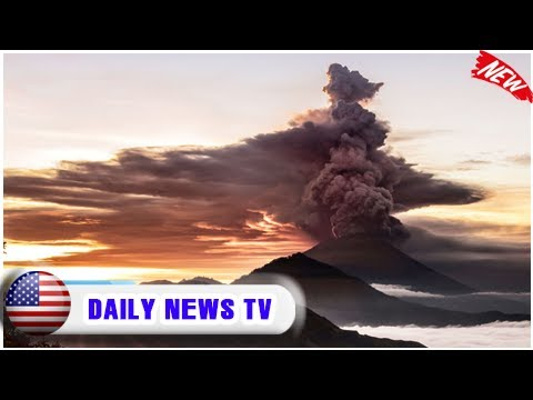 Volcano alert in bali raised to highest level| Daily News TV