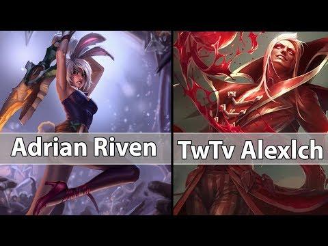 [ Adrian Riven ] Riven vs Vladimir [ TwTv Alexlch ] Top - Adrian Riven Challenger Teaching Day!