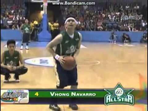 Vhong Navarro All star Basketball Game
