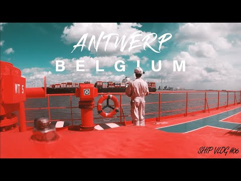 Entering Antwerp port, Belgium | Ship VLOG 06 | Bunker Preparation