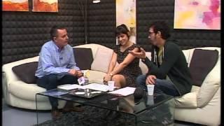 Antonio Robles entrevista a Rumpus Room en Las Ocho Puertas, en TV Linares.