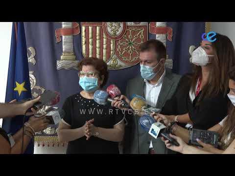 Salvadora Mateos anuncia la contratación de 160 maestros para todo el curso escolar
