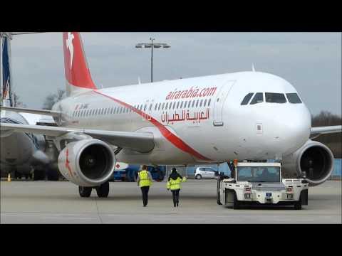 PUSHBACK | Air Arabia Maroc Airbus A320-214 [CN-NMG] | Cologne-Bonn