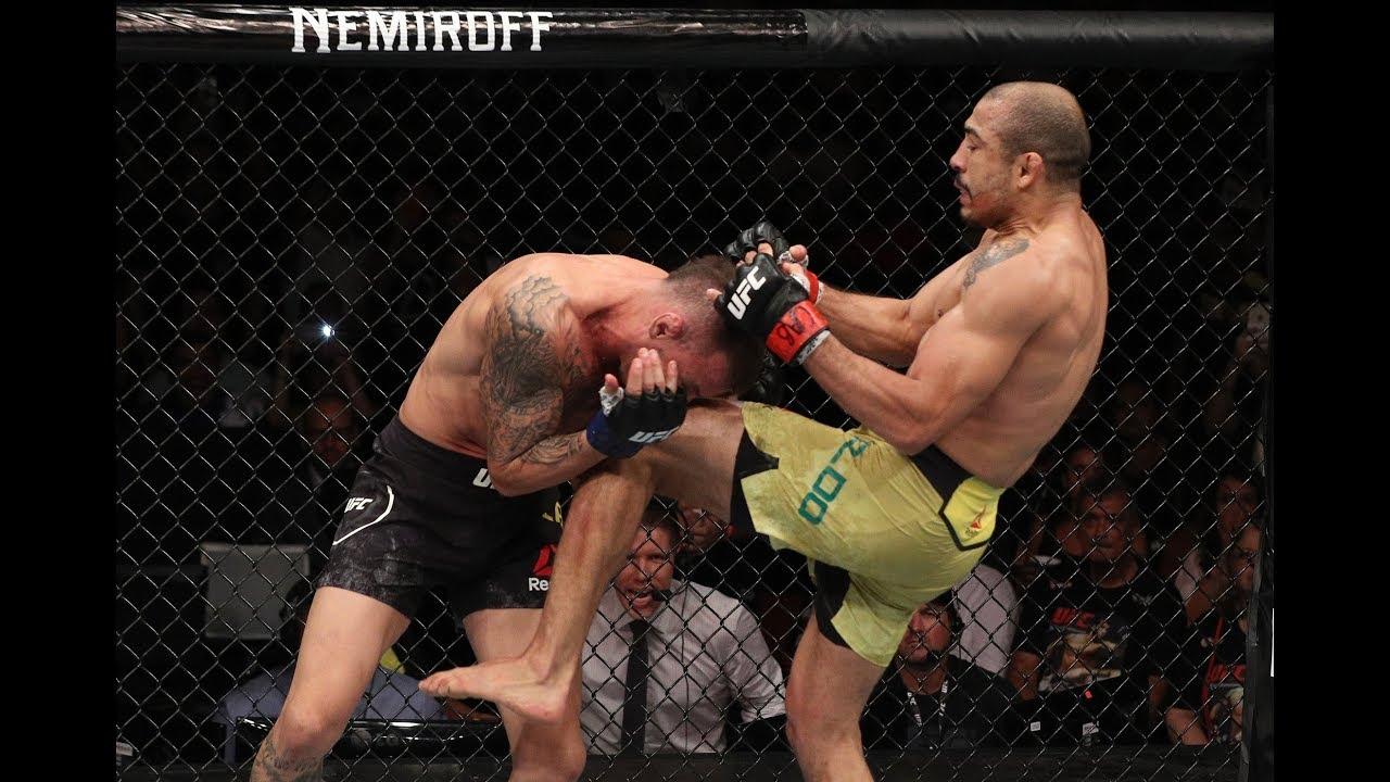 Veja o nocaute de José Aldo no UFC Fortaleza