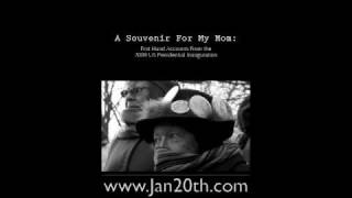 Book Trailer - A Souvenir For My Mom: First Hand Accounts from 2009 US Presidential Inauguration Thumbnail