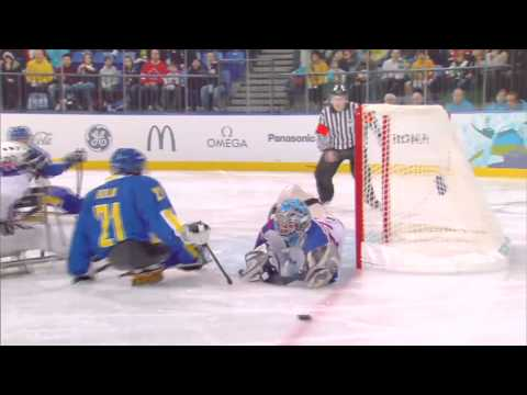 What Is Ice Sledge Hockey At The Paralympic Winter Games Youtube