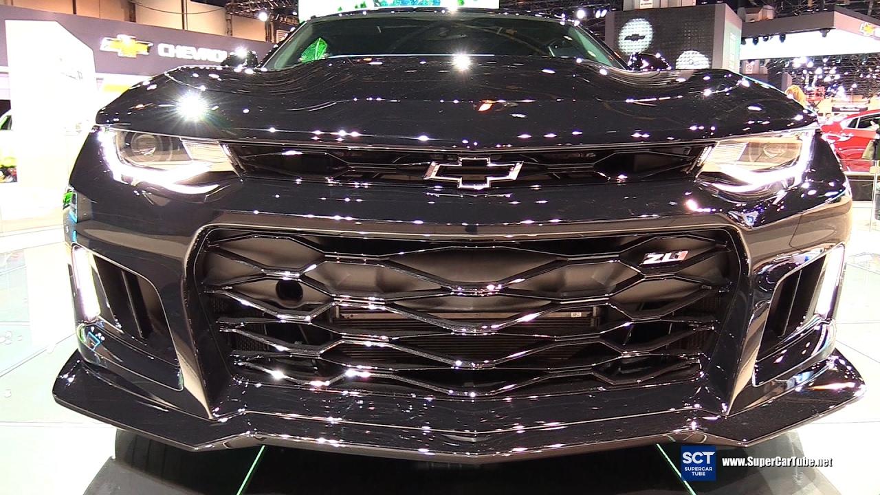 Chevrolet Camaro ZL Exterior Walkaround Chicago Auto - Car show chicago 2018