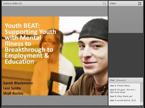 Webinar  37: Innovative approaches to Supported education and youth in Vancouver