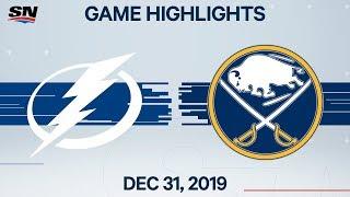 NHL Highlights   Lightning vs. Sabres - Dec. 31, 2019