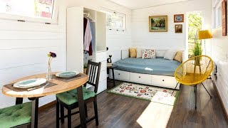 Wooden Tiny House 29.1sqm 1 Room, 1 Bathroom With Shower