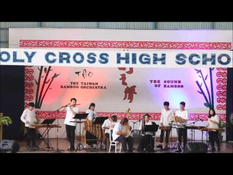 Taiwan Bamboo Orchestra Performs at Holy Cross High School