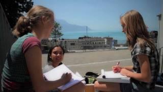 Junior Frans cursussen in Montreux, Zwitserland