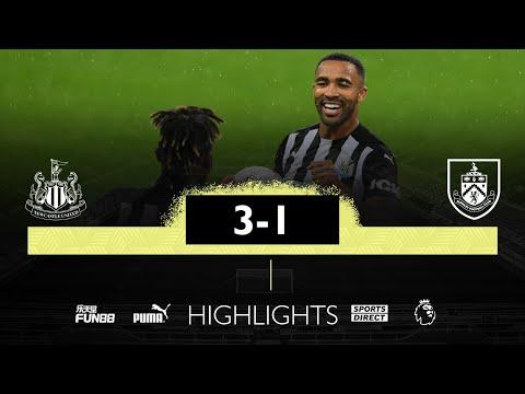 Newcastle United 3 Burnley 1   Premier League Highlights