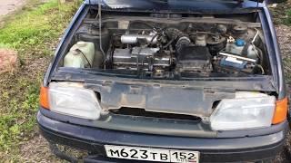 Замена ремня генератора ВАЗ 2113 2114 2115