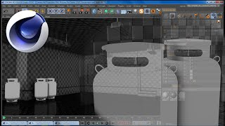 Cinema 4D | Timelapse: Modeling a Low poly Gas Tank for Game Level