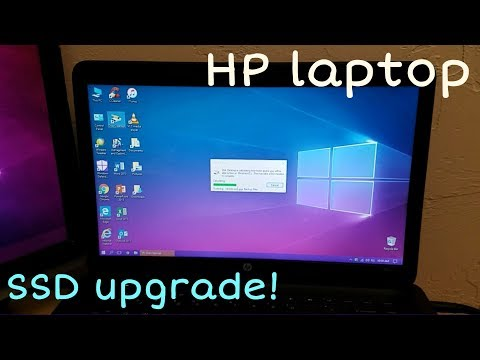 The HP laptop's SSD upgrade adventure - 6-5-17!
