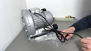 Обзор Вихревой компрессор для пруда и УЗВ SunSun PG-370, 1070л/мин (улитка)