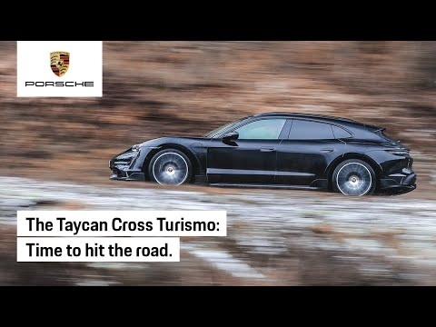 The Camouflaged Taycan Cross Turismo Hits the Road
