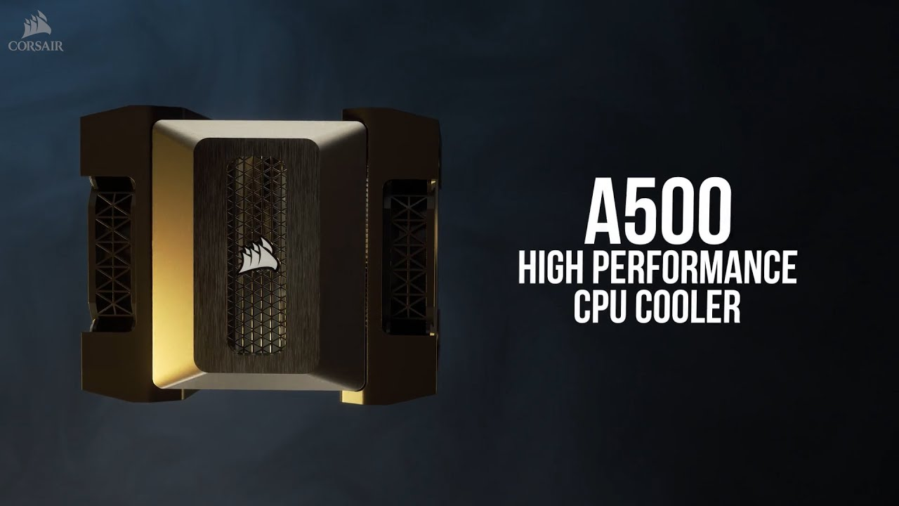 A500 Dual Fan Cpu Cooler
