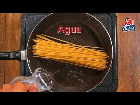 Cómo preparar #PastasDoria ahorrando recursos del medio ambiente