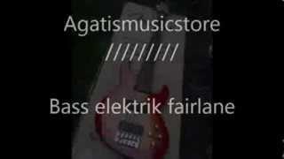 Jual bass elektrik greg bennet 5 senar fairlane series