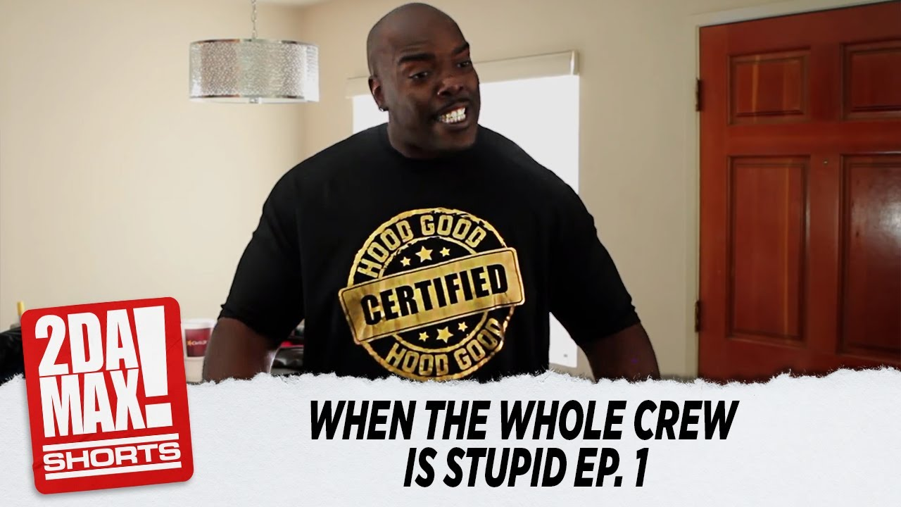 """""""WHEN THE WHOLE CREW IS STUPID"""" EP.  1   BIGG JAH #shorts"""