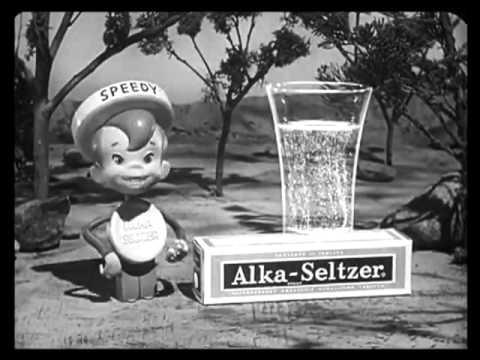 Alka seltzer 1958 Commercials