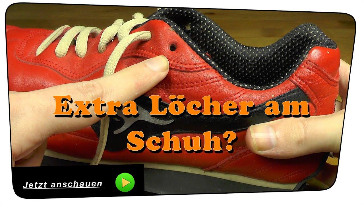 Warum die extra Schnürsenkellöcher am Schuh? Life Hack | Tutorial
