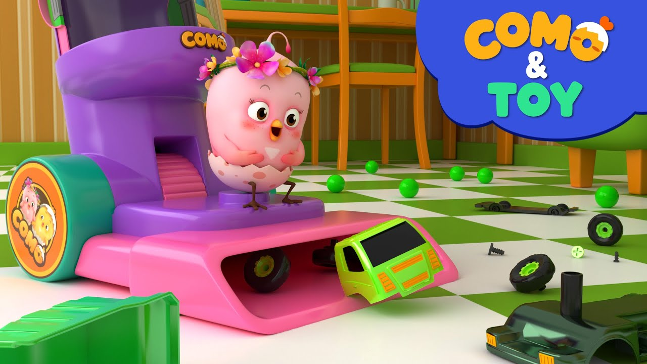 Como | Vacuum Cleaner 2  | Learn colors and words | Cartoon video for kids | Como Kids TV