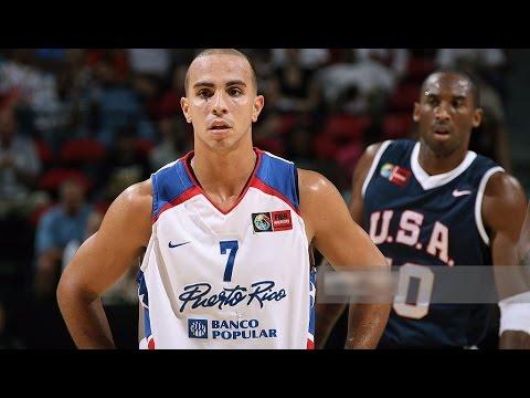 Puerto Rico vs USA 2007 FIBA Americas Basketball Championship Quarter Final Round FULL GAME English