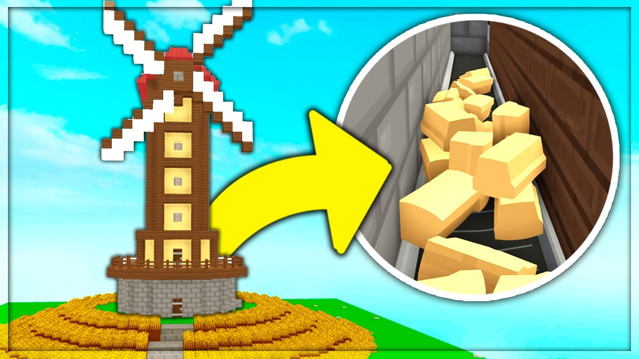 Automatic Cooking Windmill Roblox Skyblock Beta Ep 7 Youtube